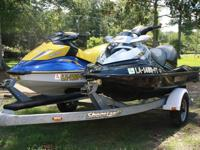 We are offering a 2008 Sea-Doo RXT and a 2006 Sea-Doo