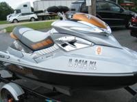 ,/2008 SEA-DOO RXT 255 JET SKI w/trailer **EXCELLENT