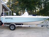 2008 Sea Fox 187CC with Mercury 115 Optimax and