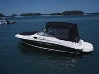 Sea Rays 240 Sun Deck is probably the most popular