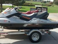 We have like brand new 2008 Seadoo Bombardier Limited