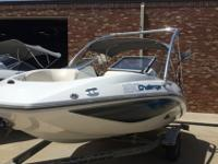 2008 SEADOO CHALLENGER 1800, ONLY 57 HOURS, 215