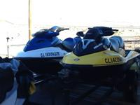 2008 Seadoo Bombardier GTX, 3 seater, 42 hrs, blue,