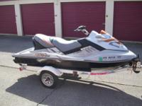 2008 Seadoo RXTX. Supercharged 255 hp, 4 stroke, 3