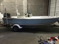 SEA FOX NO WOOD NEVER ROT HULL WITH A 90 HP SUZUKI 4