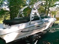 2008 Searay 175 Sport open bow runabout with a Big Air