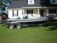 You are taking a look at a 2008 Team Skeeter ZX225 bass