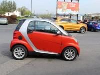 2008 Smart Fortwo Passion Red Metallic Design Black,