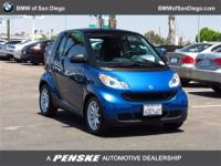 This 2008 smart fortwo 2dr 2dr Cpe Passion Coupe