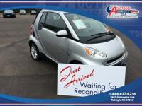This a 2008 Smart Fortwo Passion, 2D CONVERTIBLE,