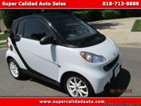 Year: 2008 Make: smart Model: Fortwo Trim: passion