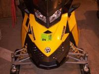 Description 2008 Ski Doo MXZ800R X Excellent condition