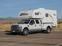 Beautiful 2008 Snowriver Truck Camper kept in MINT