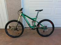 For sale is a 2008 Specialized Enduro SL Expert, Small