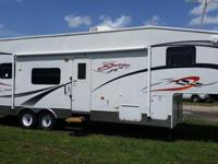 KZ 2008 Sportsmen Sportster 33P Toy Hauler. Like
