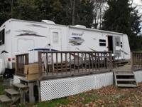 You are looking at a 2008 sprinter travel trailer by
