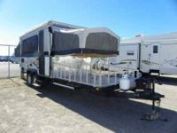 2008 Starcraft 36 RT tent camper is no ordinary pop up