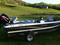 2008 Stratos 176XT. Single owner of this vessel- Garage