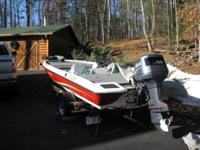2008 Stratos Bass Power Boat for Sale with Cover,