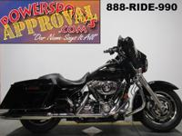 Used Harley Street Glide for sale in vivid black only