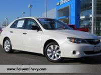 LOW MILES  This 2008 Subaru Impreza Sedan  Natl  2.5i