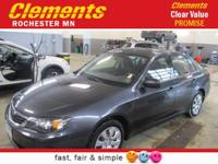 Options:  2008 Subaru Impreza 2.5I|All Wheel