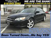 Options:  2008 Subaru Legacy Wow Price Right All Wheel