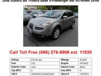 2008 Subaru Tribeca Limited7-Passenger 4dr All-wheel