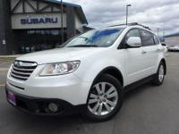 Options:  2008 Subaru Tribeca Limited|White|Navigation