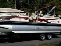- Stock #75360 - This Suntracker boat is in excellent