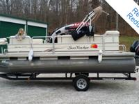 Check out this 2008 Sun Tracker Party Barge 200,