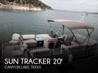 2008 Sun Tracker Party Barge 200 - Stock #086198 -