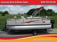 2008 Suntracker Bass Buggy 18 - $11,950.