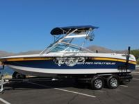 "Family water sports boat with all of your ""must haves"""
