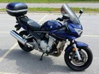 Excellent condition 2008 Suzuki Bandit GSF1250S. 14,000