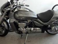 2008 Suzuki Boulevard in Excellent Condition- - Silver