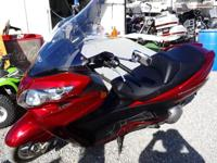 we are offering our 2008 Burgman by Suzuki! It is in