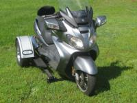 This Beautiful Suzuki Burgman 650 cc Trike. It comes