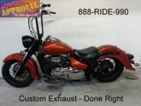 2008 Suzuki C50 Mild Custom done right. Ape hangers,