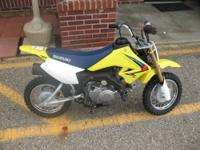 Hard to find. This little DRZ70 is a Single-Cylinder,