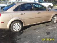 LIKE NEW, 2008 SUZUKI FORENZA LS, DAUGHTERS CAR, WELL
