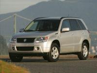 White Water Pearl 2008 Suzuki Grand Vitara 4WD 5-Speed