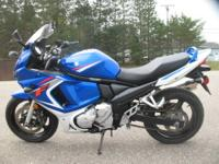 2008 Suzuki GSX 650F 6,816 miles An ideal balance of