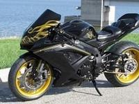 Custom Smokey and the Bandit Tribute.2008 Suzuki GSXR