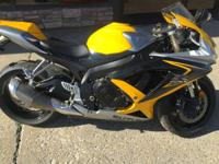2008 Suzuki GSX-R600 Won't last long Motorcycles Sport