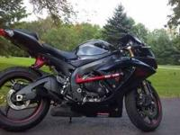 2008 Suzuki GSX-R600 Sportbike This fantastic bike has