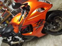 2008 Suzuki GSX1300 R Hyabusa New tires, sprockets,