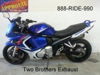 2008 Suzuki GSX650 crotch rocket for sale just $2,599!