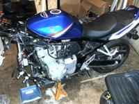 This 2008 Suzuki GSX650F was purchased new by me in