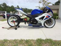 I have a fully built 2008 gsxr 1000 up for grabs. This